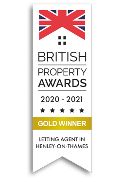 British Property Awards 2020 Gold Winner Logo